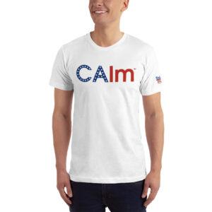 California (CAlm) T-Shirt Unisex w/ Stars